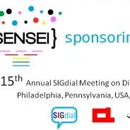 SENSEI sponsoring SIGDIAL 2014